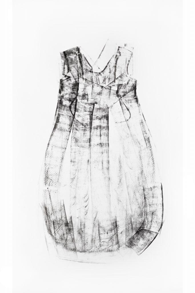Druck Kleid